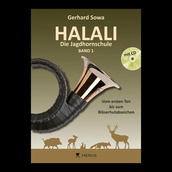 """Buch """"Halali - Die Jagdhornschule"""" Band 1, mit CD"""