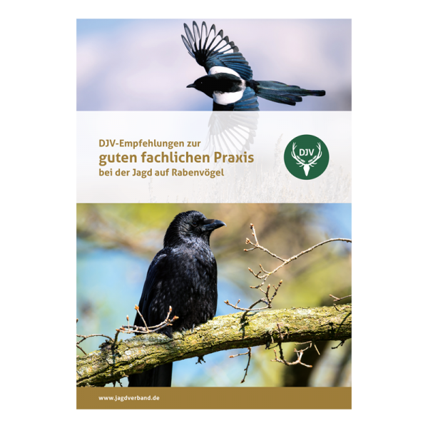 """Broschüre """"DJV-Empfehlungen zur guten fachlichen Praxis bei der Jagd auf Rabenvögel"""""""