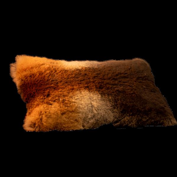 Fellwechsel - Rotfuchskissen geschoren