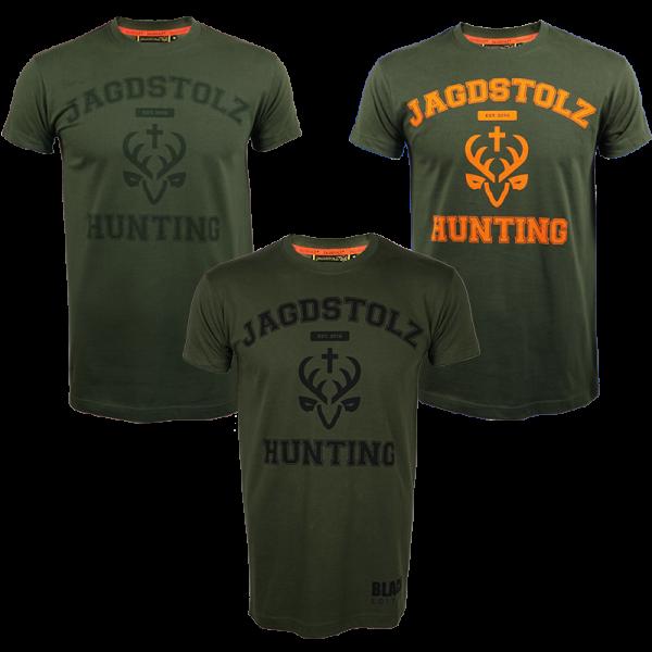 "Jagdstolz T-Shirt ""College"""