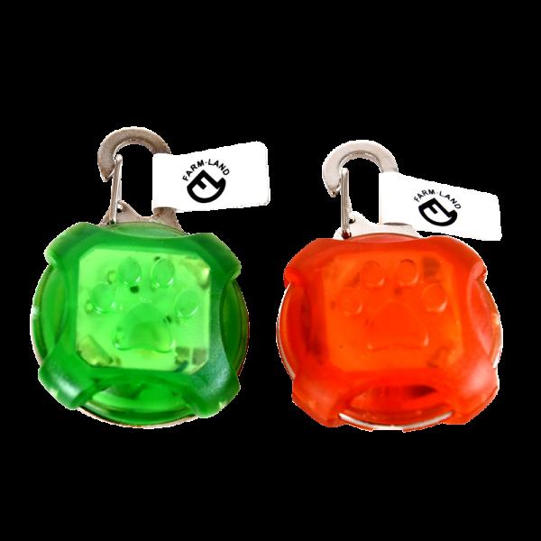 LED-Anhänger grün und orange