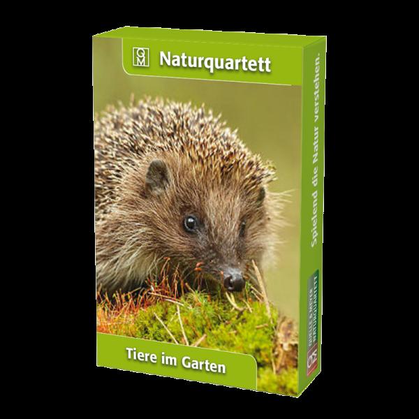 """Naturquartett """"Tiere im Garten"""""""