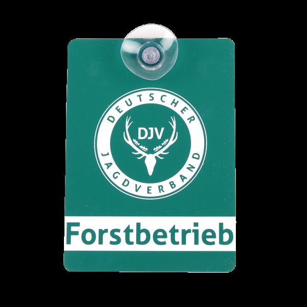 DJV-Autoschild Forstbetrieb
