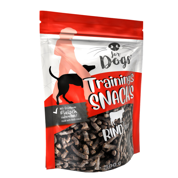 Hunde-Trainingssnack Rind