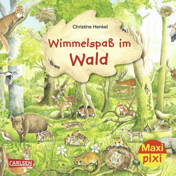 """Kinderbuch """"Maxi Pixi 282: Wimmelspaß im Wald"""""""