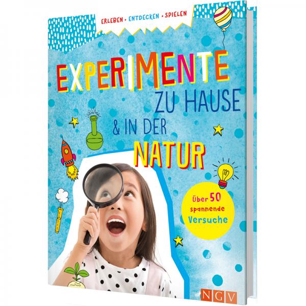 "Kinderbuch ""Experimente zu Hause & in der Natur"""