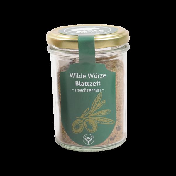 """Wild auf Wild - Wilde Würze """"Blatt-Zeit - mediterran"""""""
