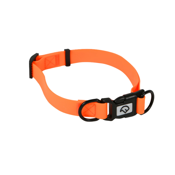 Hunde-Halsband Verstellbar Signalorange